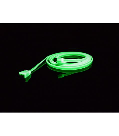 0 2m Usb Cable Green color cables micro usb 2m bee see