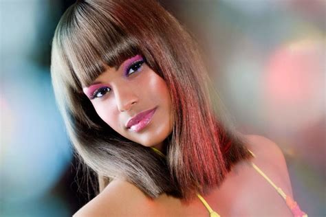 weaved lob hairstyle short weave hairstyles based on the season s latest hair