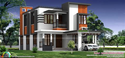 kerala home design 1800 sq ft 1800 sq ft nice modern house kerala home design and