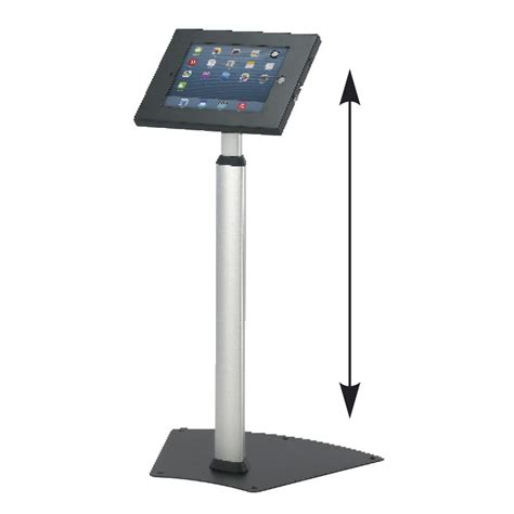 ipad easel stand height adjustable trade show ipad stand discount displays