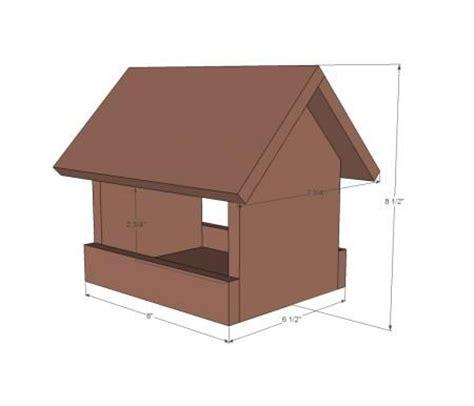 Plans For Cedar Bird Feeders Woodworking Projects Plans Cedar Bird House Plans