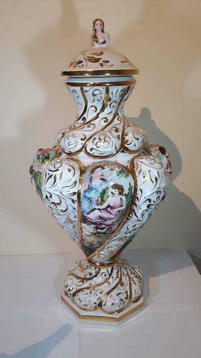 vasi capodimonte prezzi capodimonte vaso ceramica catawiki