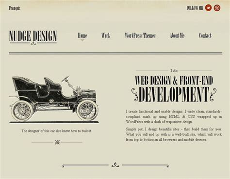 vintage home decor websites retro and vintage 44 classy exles of web designs