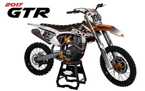 Ktm Mx Graphics Ktm Gtr Semi Custom Motocross Graphics Bikegraphix