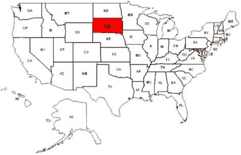 south dakota us map south dakota maps and data myonlinemaps sd maps