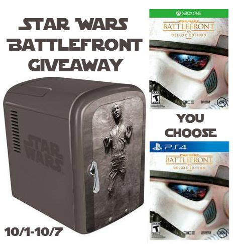 Star Wars Battlefront Xbox One Giveaway - star wars battlefront deluxe edition for xbox one or ps4