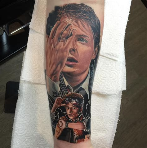 back to the future tattoo tattoo collections