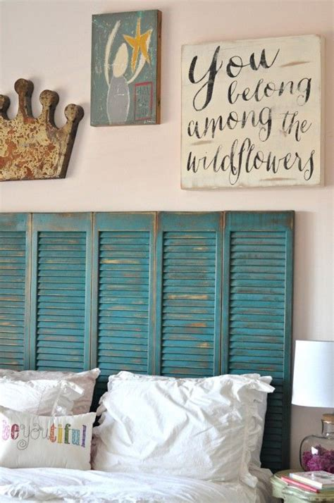 old shutters for headboard master bedroom inspiration marty s musings i just