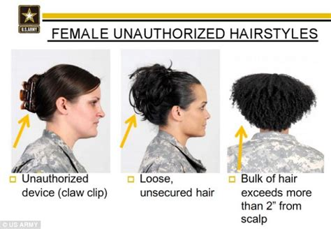 military hair braid military to review new hair rules after complaints they
