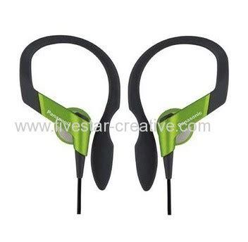 Earphone Panasonic Rp Hs33 Earhook Panasonic Rp Hs33 Lightweight Shockwave Green Sports