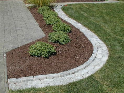 nice paver edging how to install paver edging home