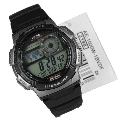 Casio Ae 1000 W 1b casio 5 alarms sports ae 1000w 1bvdf