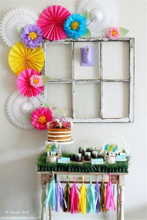 como decorar tu cuarto estilo unicornio fiestas de cumplea 241 os infantiles ideas para la