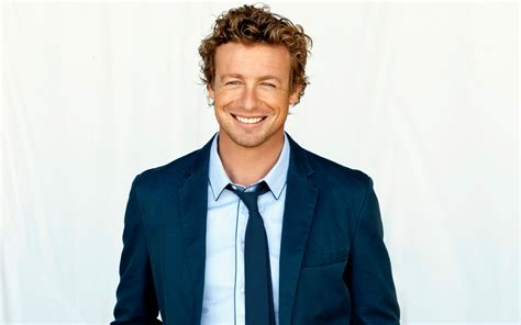 blond hair actor in the mentalist 27 simon baker hd wallpapers backgrounds wallpaper abyss
