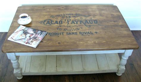 white distressed table l distressed coffee table factory cart industrial coffee