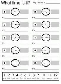 esl english vocabulary telling the time