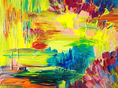 best acrylic paint for abstract bright color paintings alternatux