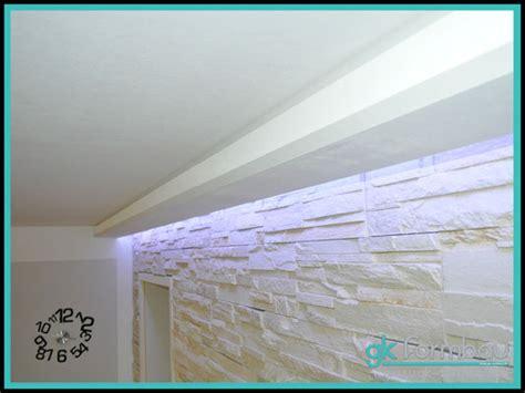 schattenfuge trockenbau indirekte beleuchtung lichtvouten gipskarton formteile