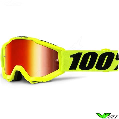 Goggle Snail Yellow Fluo 100 accuri youth goggle fluo yellow mirror lens v1mx