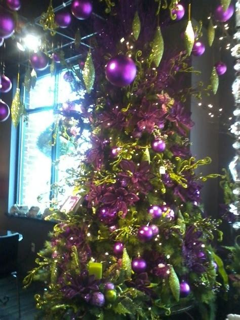 112 best a purple silver christmas images on pinterest