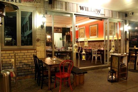 Willow Dining Room Menu by Waterfront Venues City Secrets