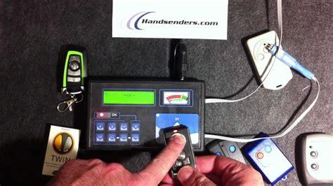 programar mando a distancia garaje mini evo programador de mandos a distancia para garaje
