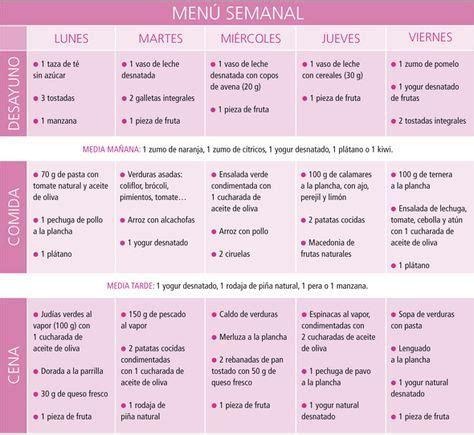 Dieta Detox Menu Semanal by Capsulas Para Bajar De Peso Menu Detox Diet Menu And Detox