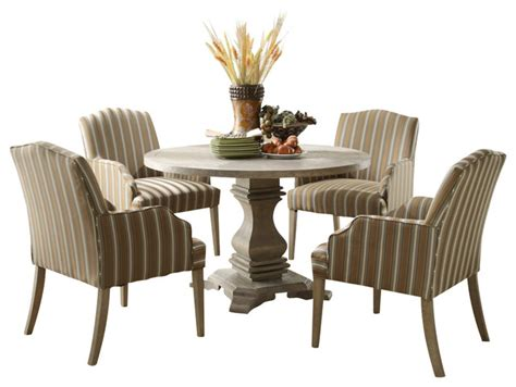 Pedestal Dining Room Sets by Homelegance Casual 5 Pedestal Dining Room
