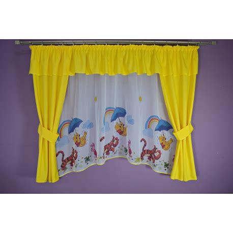 cortinas de winnie the pooh conjunto de cortinas winnie the pooh amarillo