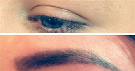 tattoo eyebrows aberdeen before after hd brows beauty and pering pinterest