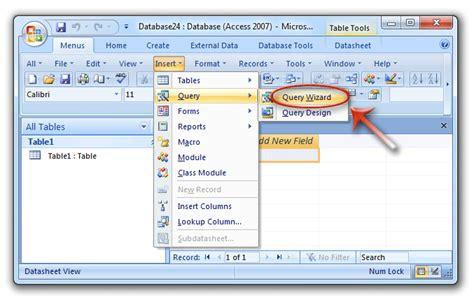 access 2007 tutorial query design image gallery access 2010 query