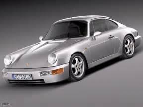 1990 Porsche 911 Price Porsche 911 964 1990 3d Model Cgstudio