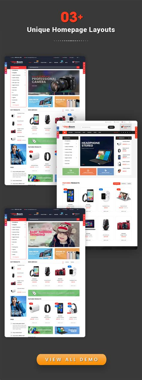 shopify themes nulled clickboom responsive multipurpose shopify theme