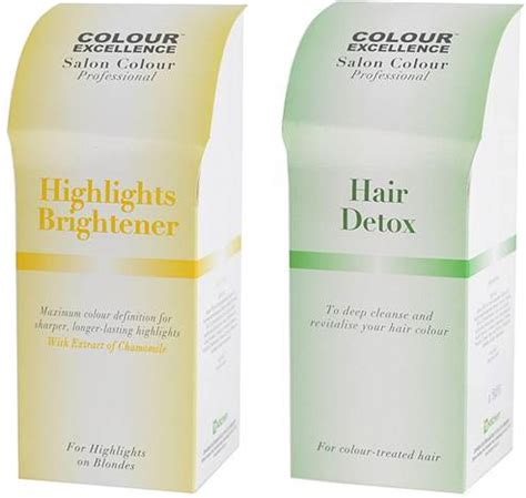 Detox Europe colour excellence highlights brightener hair detox