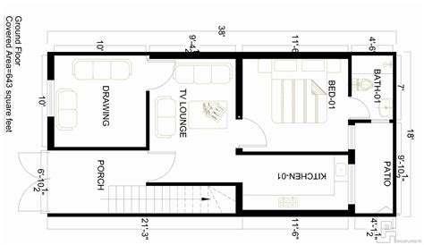 3 Marla House Design Story 3 Marla House Map Gharplans Pk