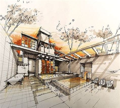 Interested In Architecture 1000 Ideas About Architectural Sketches On