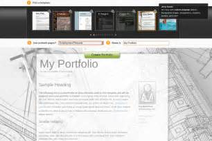 portfolio free template best photos of academic portfolio template student