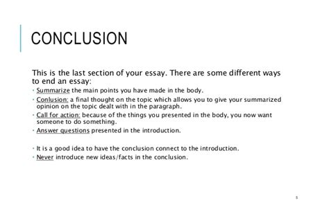 Ways To End A Essay by Ways To End An Essay Ways To End An Essay Ayucar
