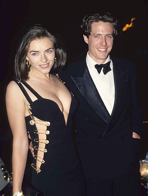 Why Ex Hugh Grant Didnt Show For Lizs Wedding by Elizabeth Hurley Wishes Ex And Best Friend Hugh Grant