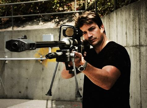 nathan fillion edward buck real life halo sniper rifle gamingreality