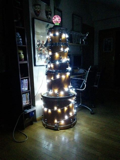 drum kit christmas tree must make pinterest trees
