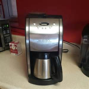 Cuisinart Coffee Maker And Grinder Cuisinart Grinder And Coffee Maker On Carousell