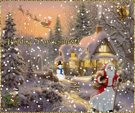 google images christmas scenes large christmas scene gif google search merry