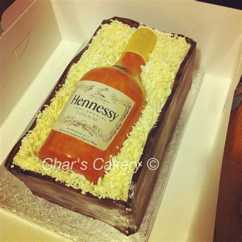 hennessy bottle cake novelty cakes bottle