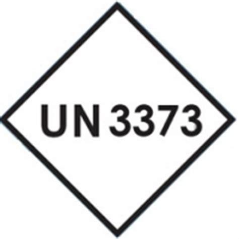 printable un3373 label hazard labels
