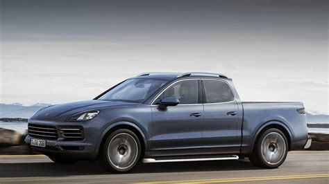 porsche pickup truck would a porsche cayenne suv turned pickup truck surprise