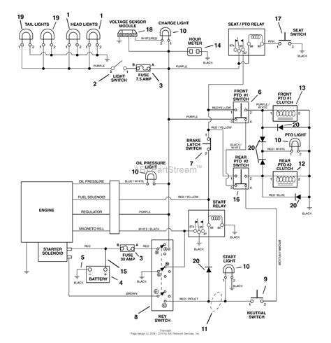 deere stx38 wiring diagram wiring diagram with