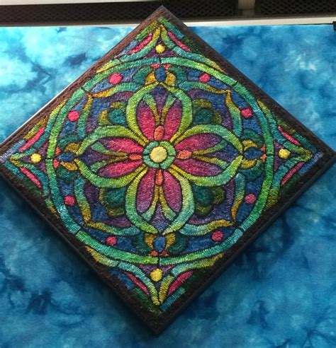 geometric rug hooking patterns 17 best images about rug hooking geometric on runners hooked rugs and auction