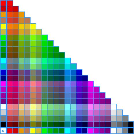 mixed colors kendra s coloring book color mixing chart color