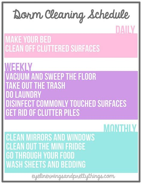 How To Make Cleaning Your Room by 17 Best Ideas About College Organization On